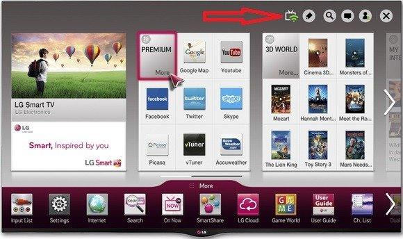 LG Smart TV LED