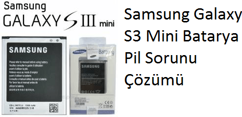 Samsung Galaxy S3 Mini Batarya
