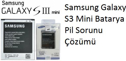 Samsung Galaxy S3 Mini Batarya