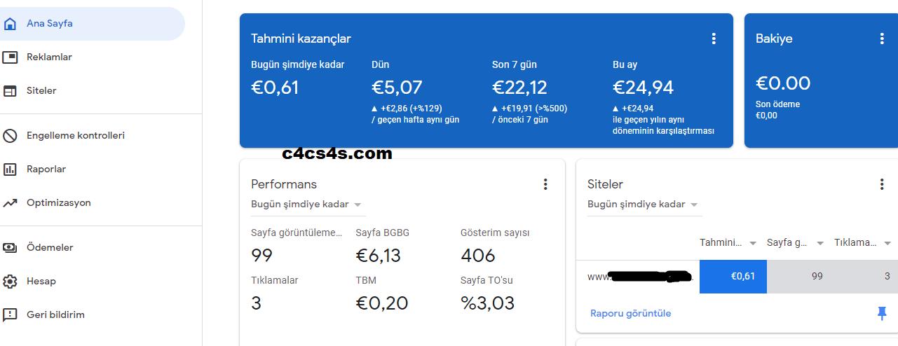 Yabanci Adsense Acmak Almanya Ingiltere Avusturya ABD