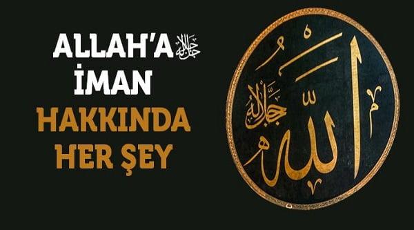Allaha iman
