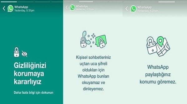 WhatsApp Geri Vitese Taktı